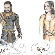 roman heroic fantasy francais