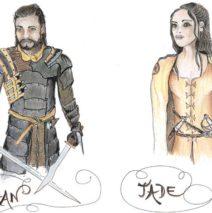 Invitation à découvrir un livre heroic fantasy français